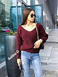 Идеальный свитер, очень теплый, 42-48 р, серый, фото 5