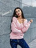 Идеальный свитер, очень теплый, 42-48 р, серый, фото 8