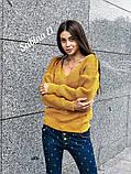 Идеальный свитер, очень теплый, 42-48 р, серый, фото 10