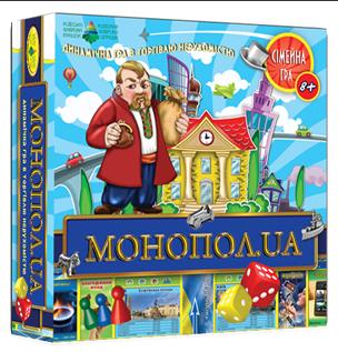 МОНОПОЛ.UA Детская экономическая настольная игра Энергия плюс