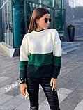 Модный теплый свитер, полушерсть,  42-48 р,, фото 2