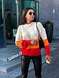 Модный теплый свитер, полушерсть,  42-48 р,, фото 4