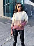 Модный теплый свитер, полушерсть,  42-48 р,, фото 5