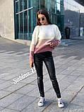 Модный теплый свитер, полушерсть,  42-48 р,, фото 7