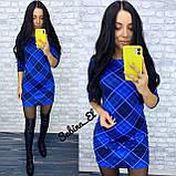 Универсальное стильное платье, 42, 44, 46рр, зеленый цвет, фото 2