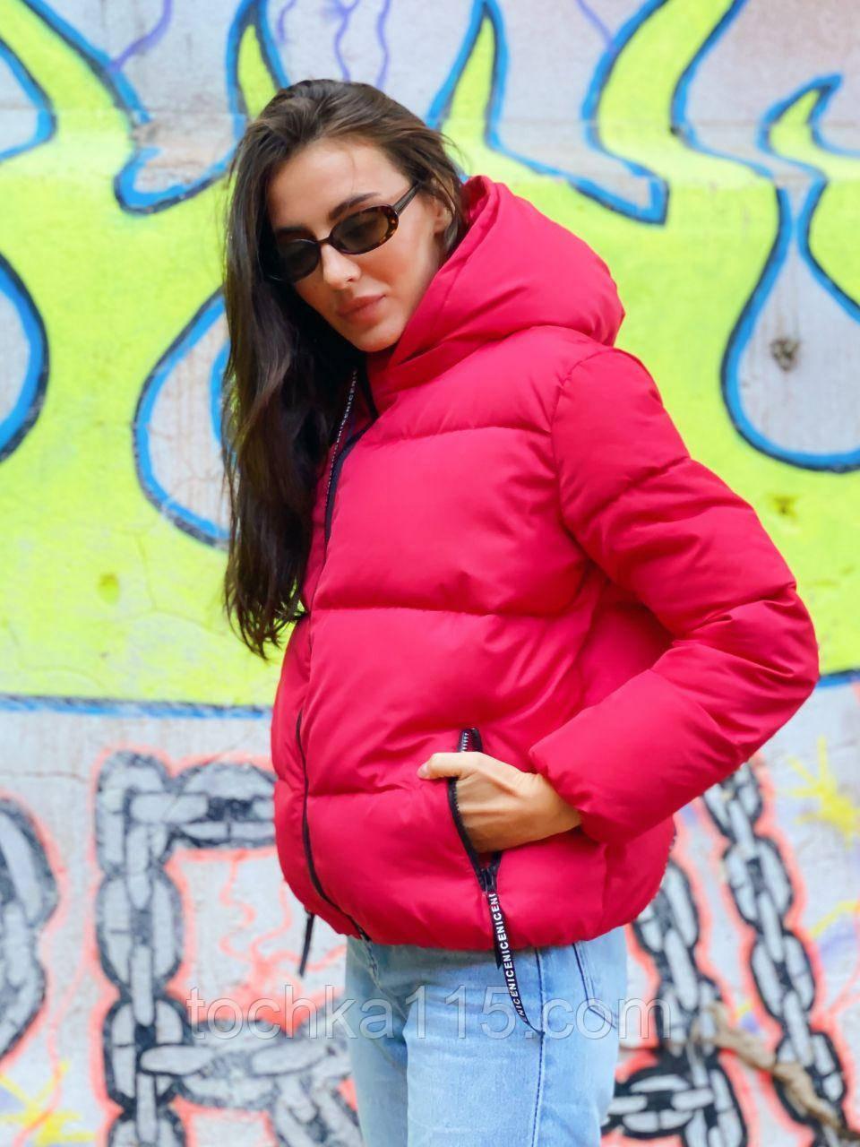 Легкая, невесомая стильная куртка, S/M/L, красный
