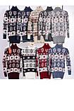 Стильный теплый шерстяной женский свитер  (вязка), фото 2