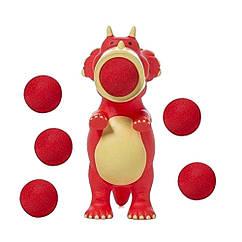 Игровой набор Стреляющий зверек Динозавр Трицератопс Squeeze Popper (54361)