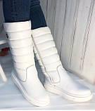 Сапоги дутыши молодежные зима из натуральной кожи от производителя модель НИ037, фото 2