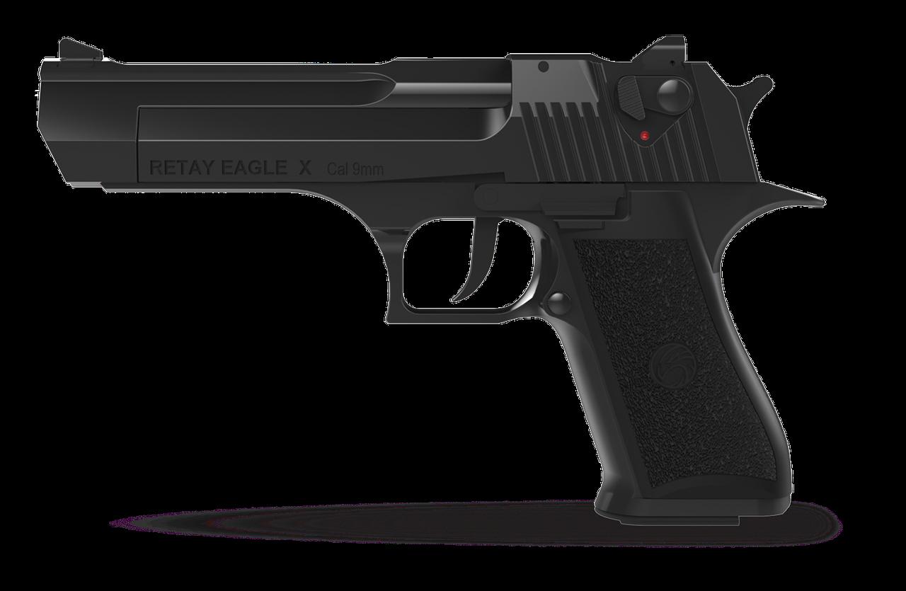 Стартовый пистолет Retay Eagle X Black
