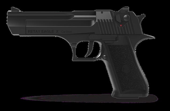 Стартовый пистолет Retay Eagle X Black, фото 2