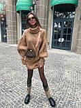 Самое любимое и удобное платье свитер, 42-48 р, цвет розовый, фото 3