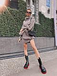 Самое любимое и удобное платье свитер, 42-48 р, цвет розовый, фото 5