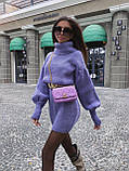 Найулюбленіше та зручне плаття, светр, 42-48 р, колір сірий меланж, фото 3