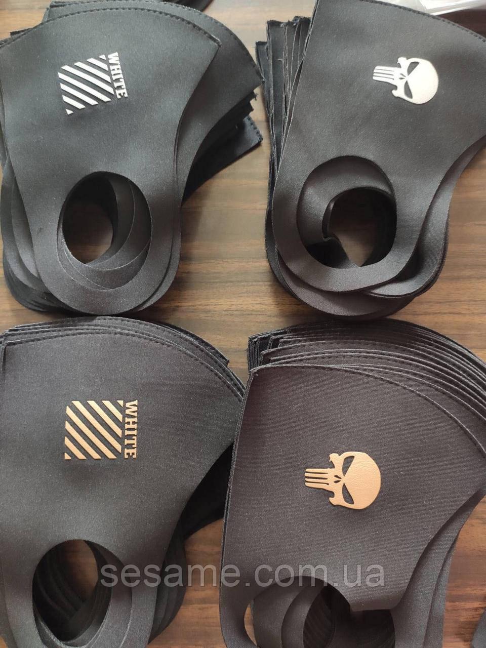 Защитная Маска Питта принт  многоразовая маска