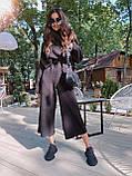 Идеальный базовый  костюм для осени, 42-46р, цвет бежевый, фото 5