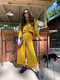 Идеальный базовый  костюм для осени, 42-46р, цвет бежевый, фото 6