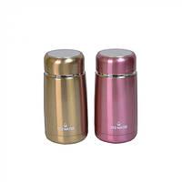 """Мини-термос для напитков """"Yes-water"""" разные цвета, 260мл, 13х6см, термосы, емкость для напитков"""