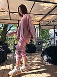 Трендовый стильный костюм, 42-46, 46-48 рр, цвет бежевый, фото 2