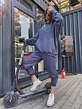 Трендовый стильный костюм, 42-46, 46-48 рр, цвет бежевый, фото 6