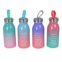 Термос-бутылочка для напитков Schotia разноцветная, 16х6см, 350мл, термосы, емкость для напитков