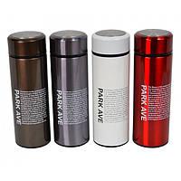 """Термос для напитков """"Park ave"""" разные цвета, 350мл, 19х6см, термосы, емкость для напитков"""