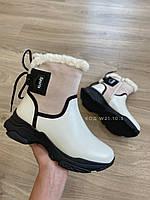 Женские сапоги белые зима Жіночі чоботи зимові спорт