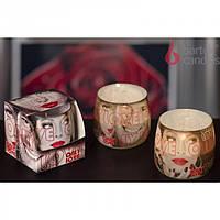 """Свеча декоративная для дома """"ONLY LOVE"""" S615, в стакане, ароматизированная, в коробке, ароматическая свеча,"""
