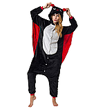 Пижама кигуруми Взрослые летучая мышь, фото 2