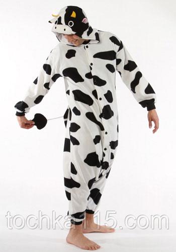 Піжама кигуруми Дорослі корова