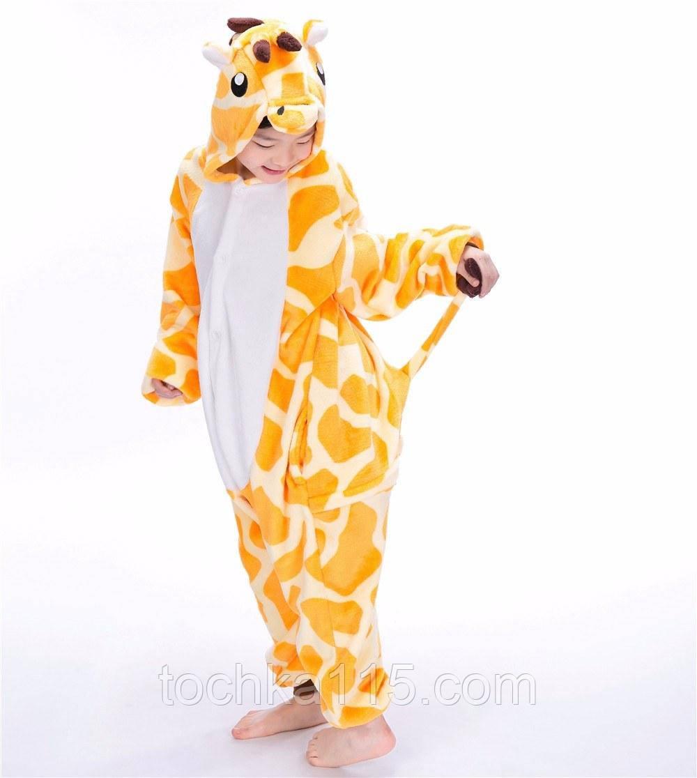 Піжама кигуруми Дитячі жираф