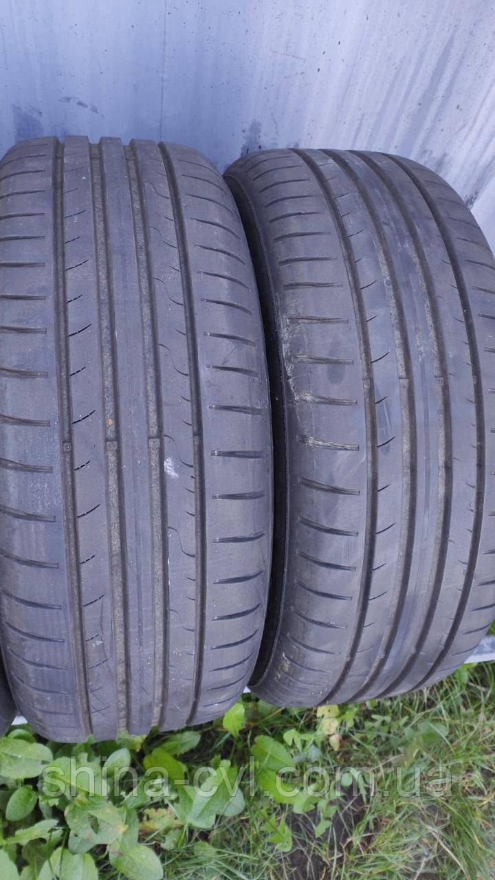 Літні шини 205/55 R16 91V DUNLOP SPORT BLURESPONZE