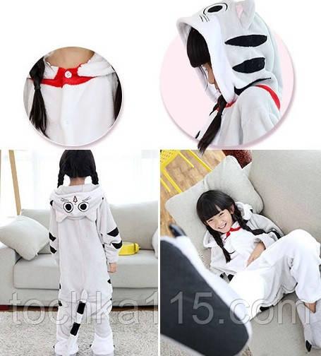 Пижама кигуруми Детские кошечка