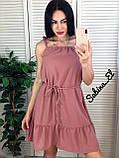 Стильное красное платье, очень легкое 42-44, 46-48 рр, фото 2