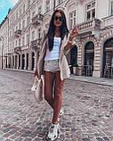 Женский вязанный кардиган идеальный вариант на прохладные вечера  42-46р, серый, фото 6