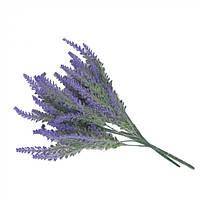 Букет искусственных цветов для декора Лаванда пластик, фиолетовый, 37х17см, искусственные цветы, декоративные