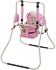Качель Babyroom Casper  св.розовый-бежевый