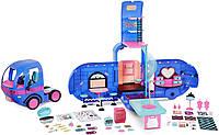 Синий Кемпер для кукол ЛОЛ Оригинал L.O.L. Surprise! O.M.G. 4-in-1 Glamper Fashion Camper (569459), фото 1
