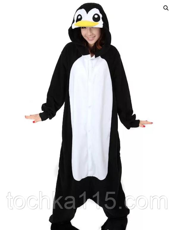 Піжама кигуруми Дорослі пінгвін