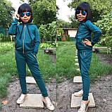 Стильный детский спортивный костюм, турецкая двухнитка, фото 3