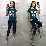 Женская футболка,  на лето модный принт S/M/L/XL, фото 4