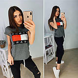 Стильный женский комплект TH, турецкий трикотаж S/M/L/XL, фото 5
