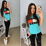 Стильный женский комплект TH, турецкий трикотаж S/M/L/XL, фото 6