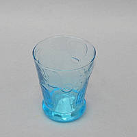 Стильные универсальные бокалы из стекла Croton голубые, бокалы стеклянные, бокалы универсальные