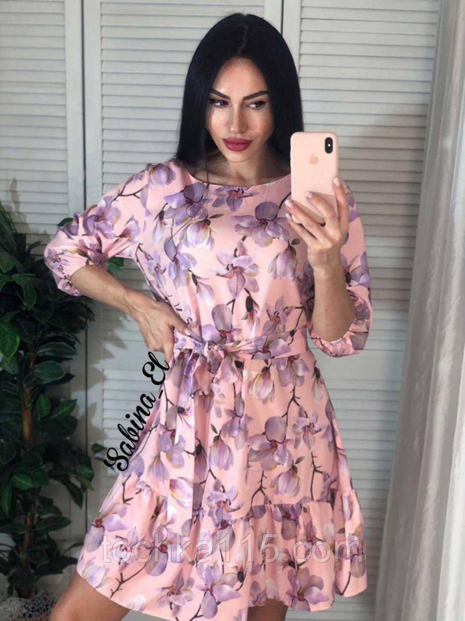 Нежное платье супер софт 42-44, 46-48 рр