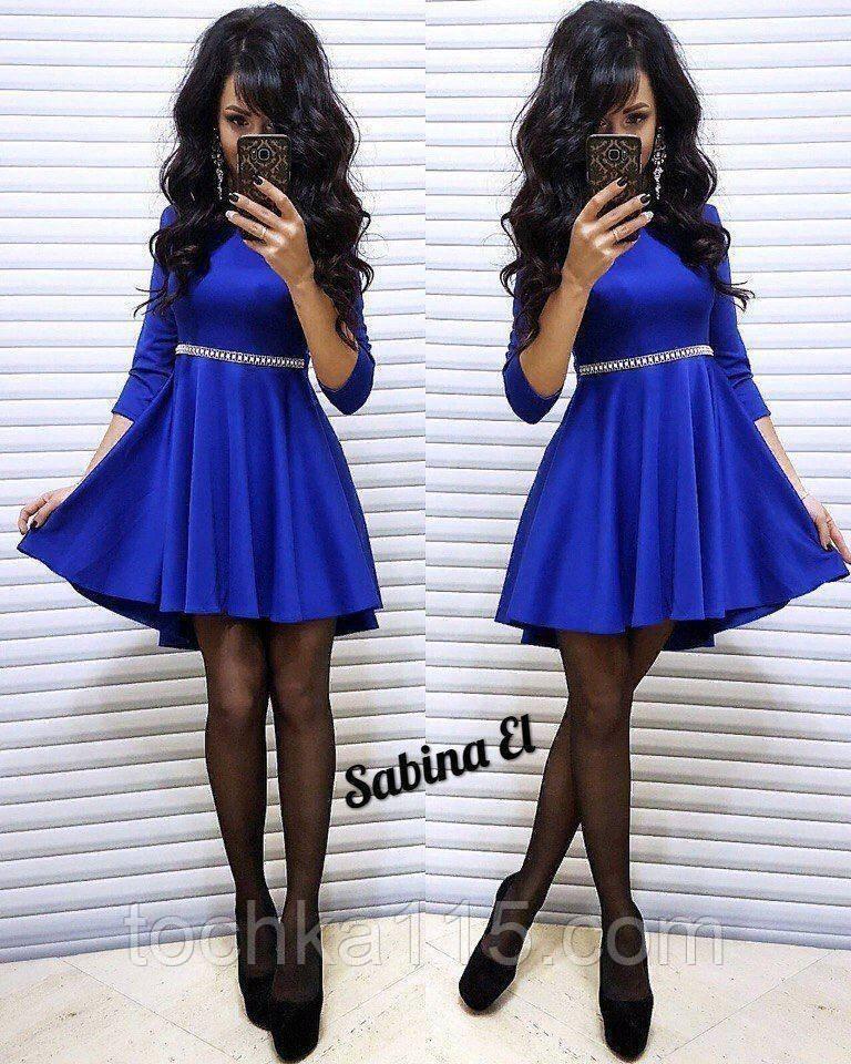 Стильне ніжне плаття крепдайвинг, підкреслить твою жіночність S/M