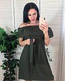 Стильное платье супер софт, подчеркнет твою женственность S/M/L, фото 2