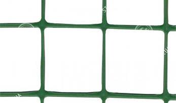 Клевер Сетка пластиковая птичка яч. 12х14 мм, рул. 1.5х100 м (зеленая)