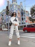 Трендовый женский костюм, очень теплый, (S/M), цвет бежевый, фото 7