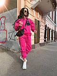 Трендовый женский костюм, очень теплый, (S/M), цвет бежевый, фото 8